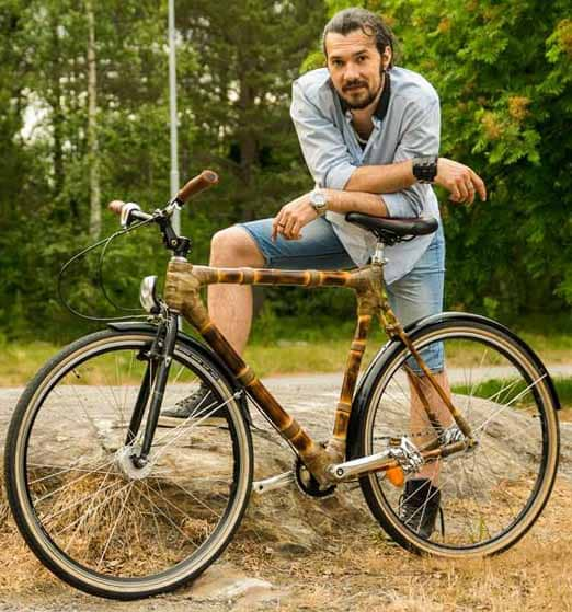 Rares and the first Divera bike